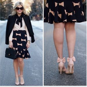 NWT Anthropologie Eva Franco Bow tie Pencil Skirt